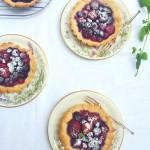 Makkelijke taartjes met zomerfruit & amandelmeel