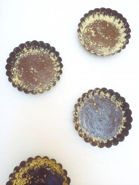 Makkelijke mini taartjes met zomerfruit & amandelmeel made by ellen