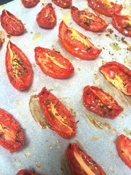 zongedroogde tomaten in de oven zelf maken made by ellen