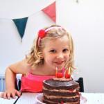 chocolate cake door mijn dochter's verjaardag made by ellen