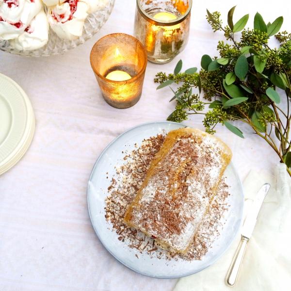 Bûche de Noël - een feestelijk dessert made by ellen