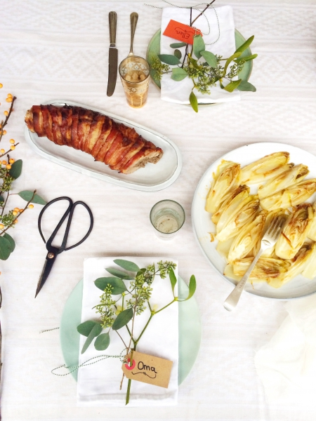 Kalkoenrollade uit de oven made by ellen