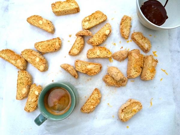 Cantuccini koekjes recept made by ellen