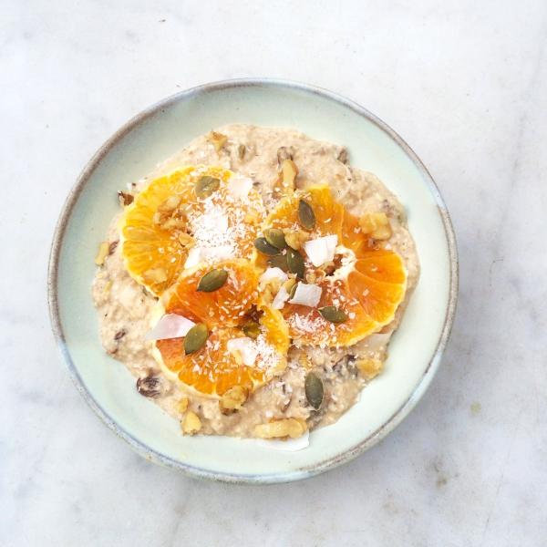 Havermout ontbijt met banaan - mijn favoriete recept made by ellen