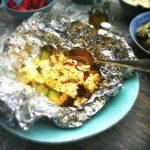 Goddelijke groentepakketjes van de bbq made by ellen