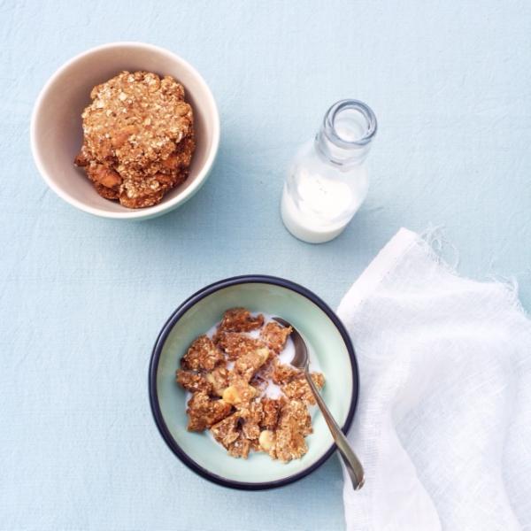 Havermoutkoekjes zonder suiker en boter made by ellen