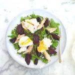 Makreelsalade recept met bieten en linzen made by ellen