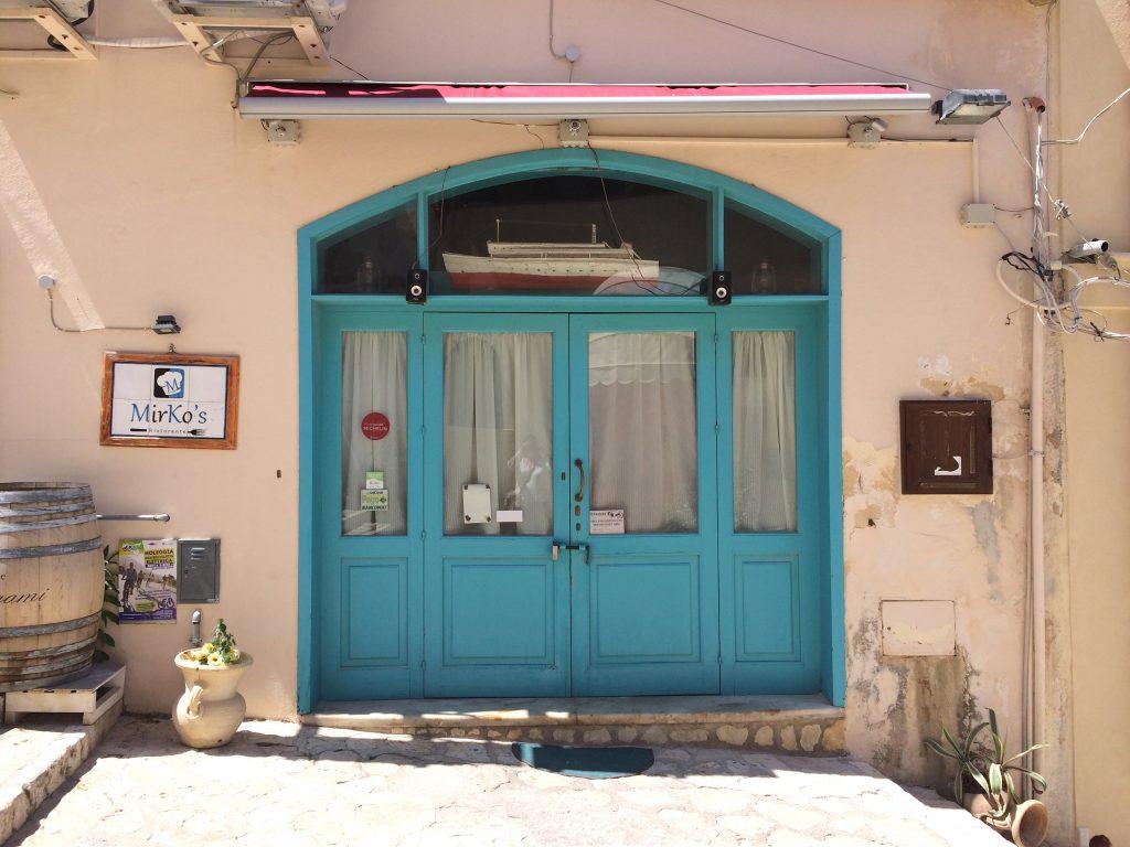 Mirko's restaurant Castellamare du Golfo sicilie made by ellen