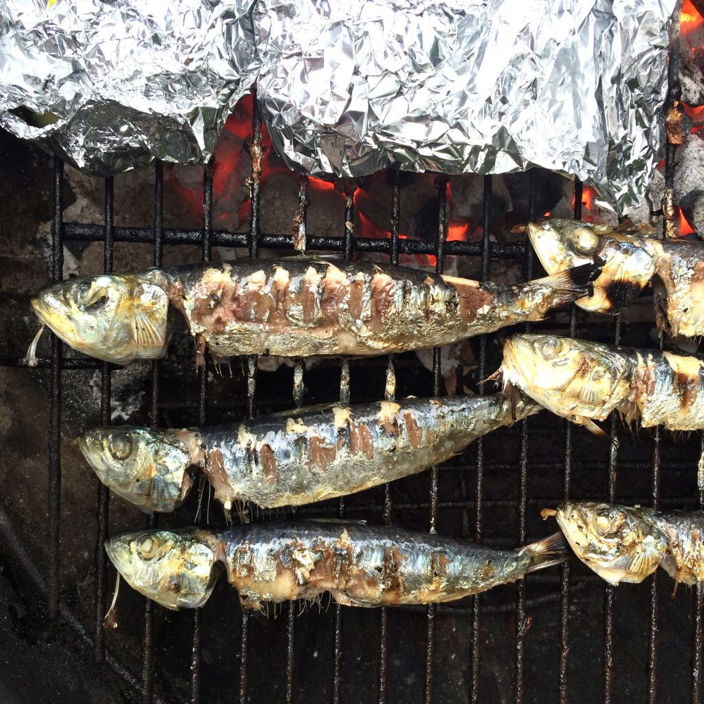 Recept sardines grillen met Siciliaanse saus made by ellen