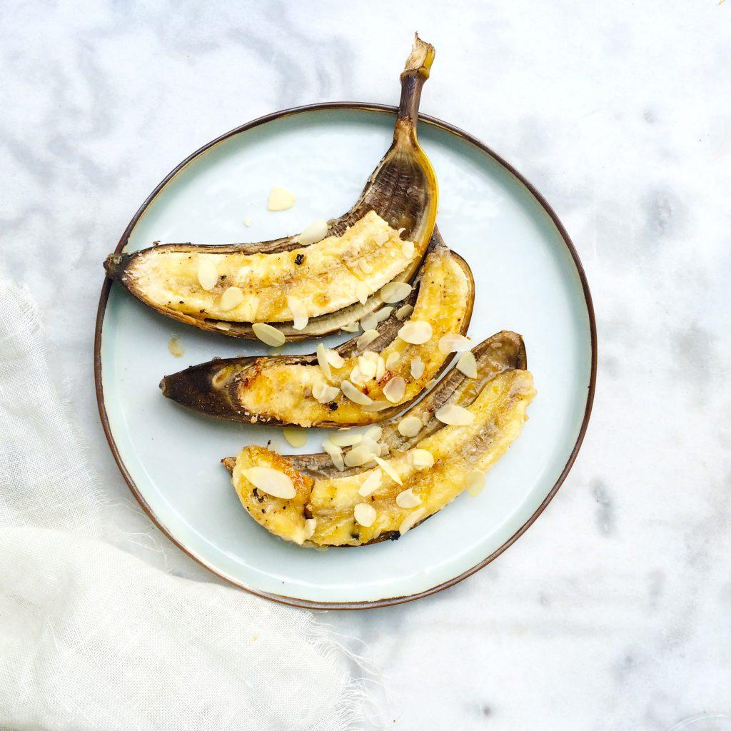 Banaan op de BBQ met honing & kokos made by ellen