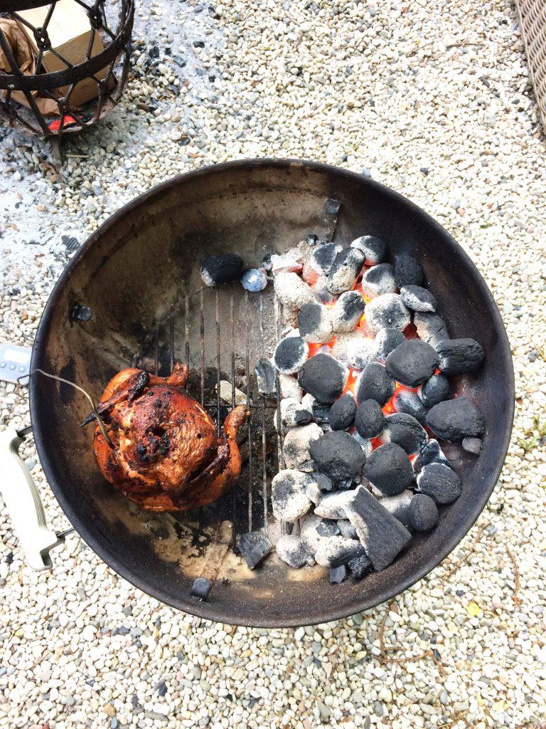 Beer can chicken - bierblik kip recept made by ellen