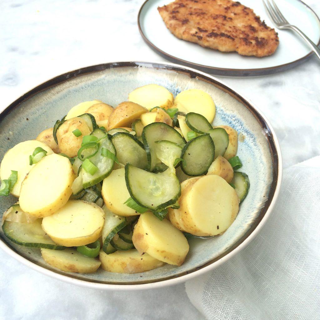 Recept aardappelsalade met komkommer made by ellen