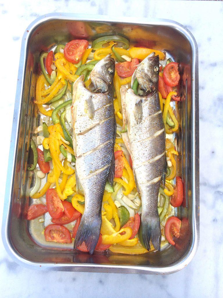 Zeebaars uit de oven recept - lekker én makkelijk made by ellen