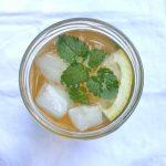 Zelf gezonde ijsthee maken met 3 ingrediënten made by ellen
