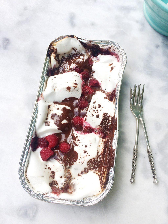 marshmallow recept met chocolade & framboos made by ellen