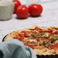 tomatentaart met feta & pesto - video recept