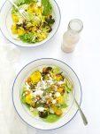 Salade met couscous en gegrilde groenten