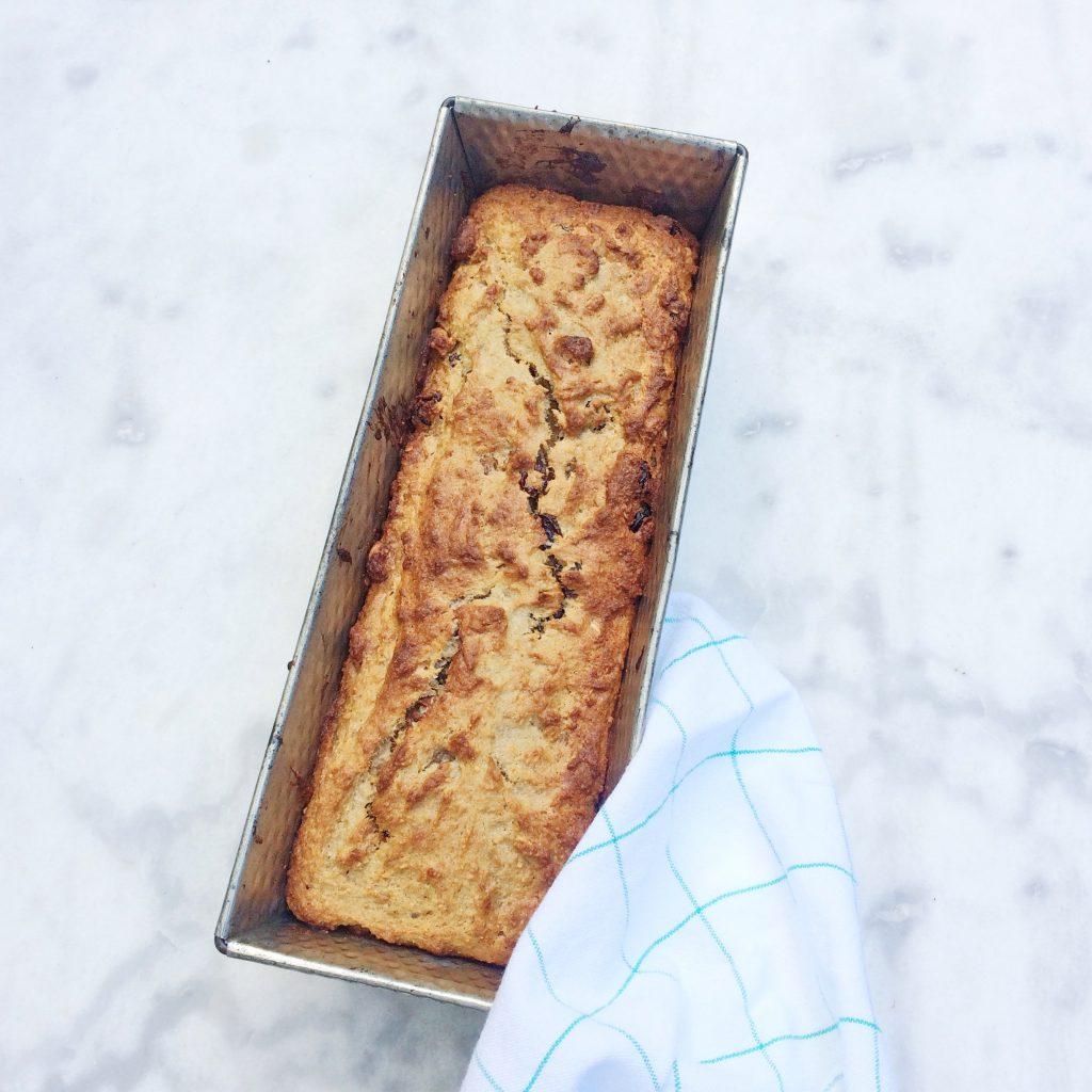Bananenbrood amandelmeel gezond recept made by ellen