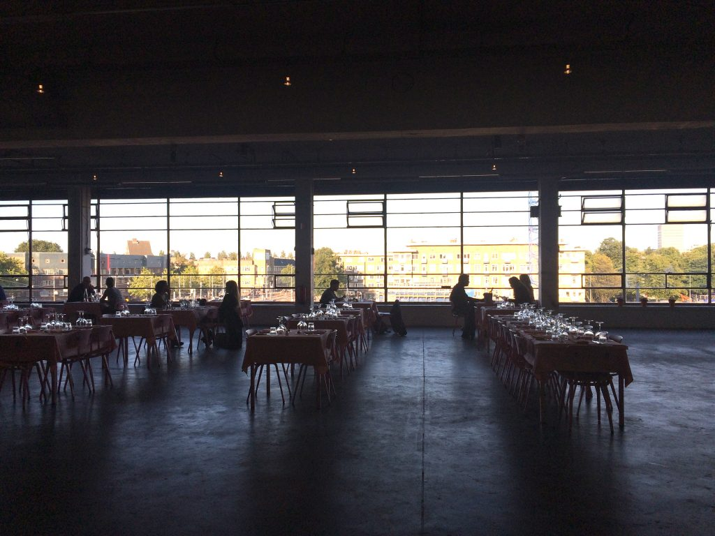 Citroen restaurant Amsterdam, hotspot made by ellen