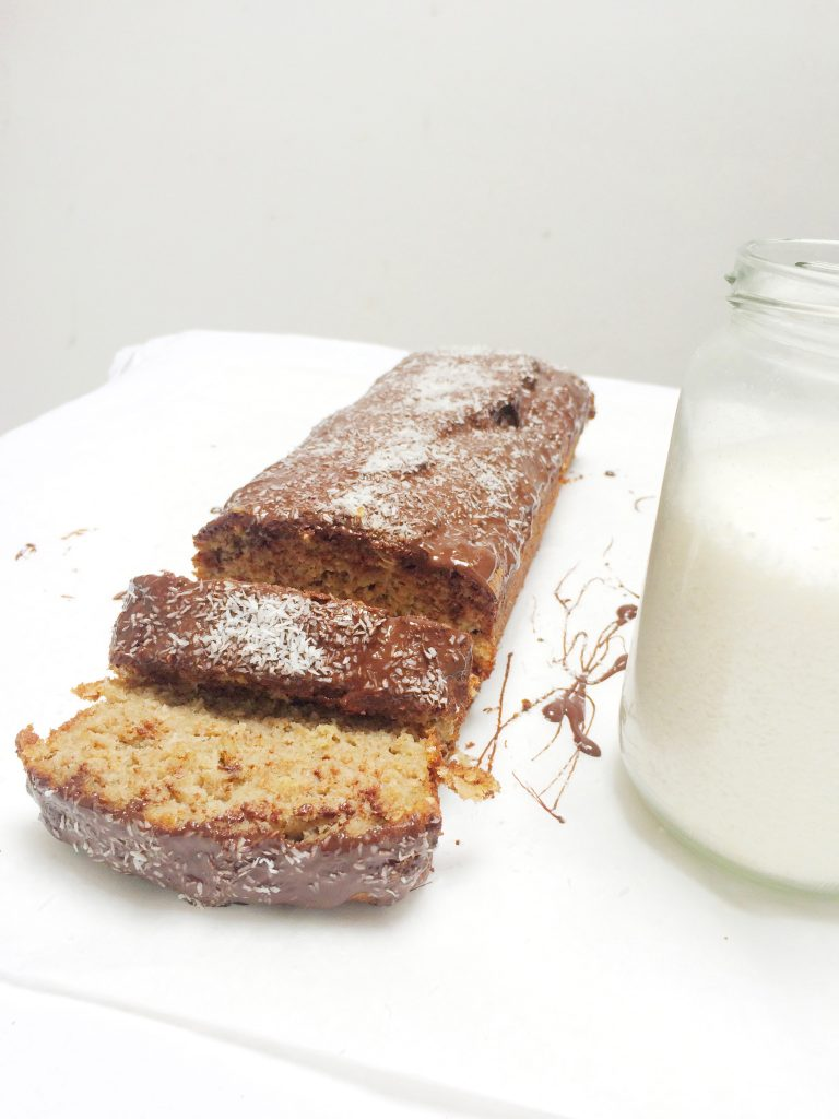 banana bread recept met havermout en choco made by ellen