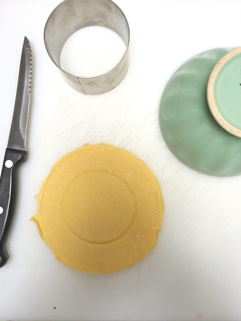 Recept paddestoelentaartje van bladerdeeg