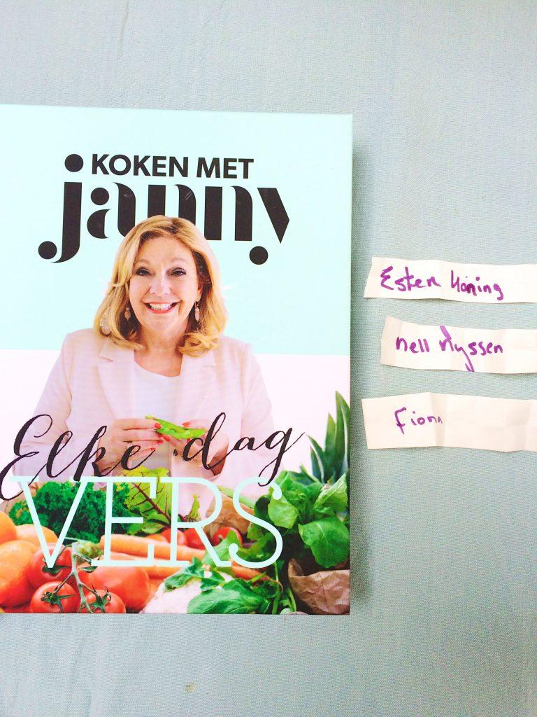 Winnaars kookboek Janny bekend! made by ellen