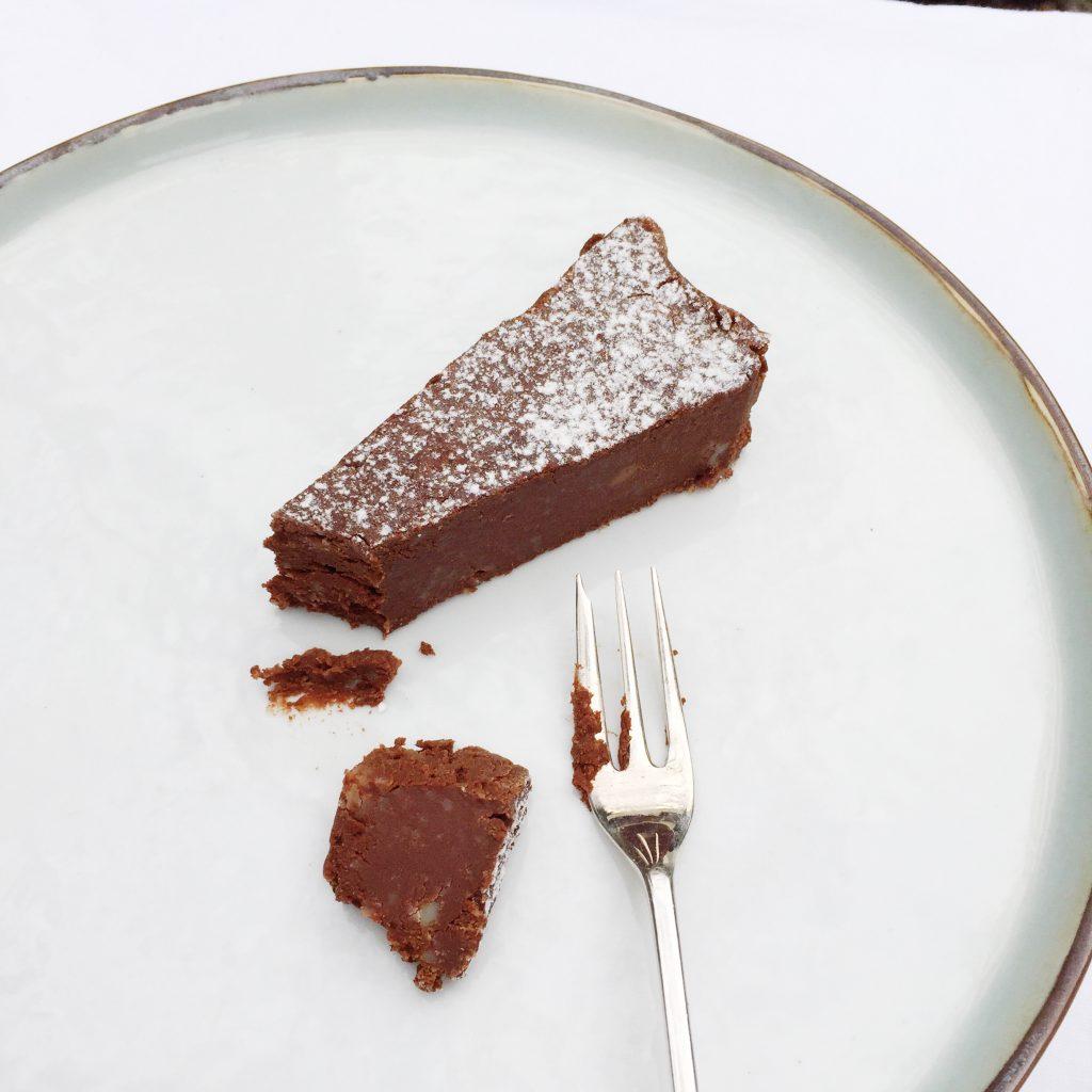 Chocolade kastanjetaart - makkelijk snel recept made by ellen