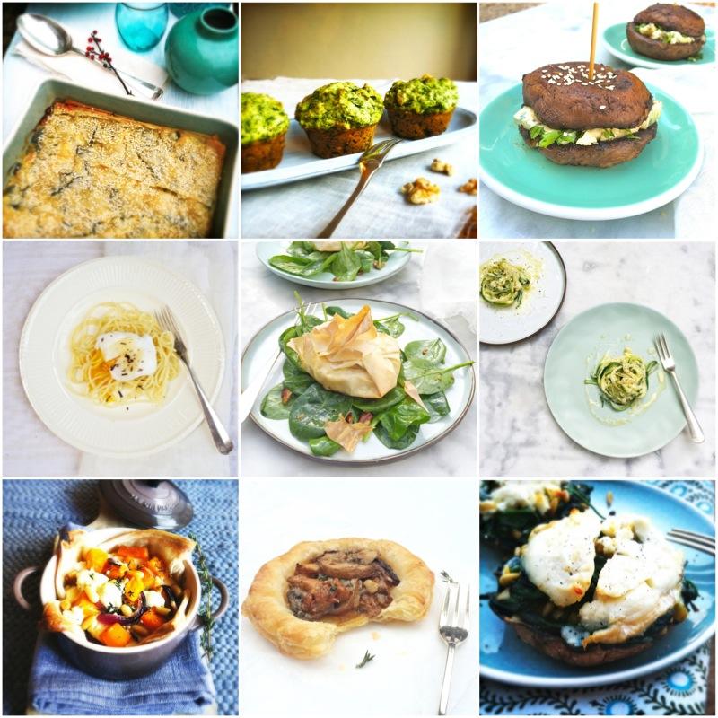 kerstrecepten makkelijk en vegetarisch made by ellen
