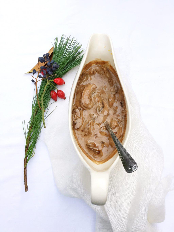 Champignonsaus maken recept made by ellen