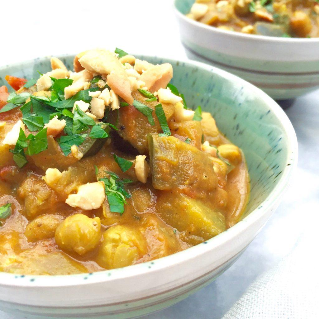 Kikkererwten curry met kokosmelk maken made by ellen