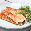 Recept cannelloni spinazie + ricotta - video made by ellen
