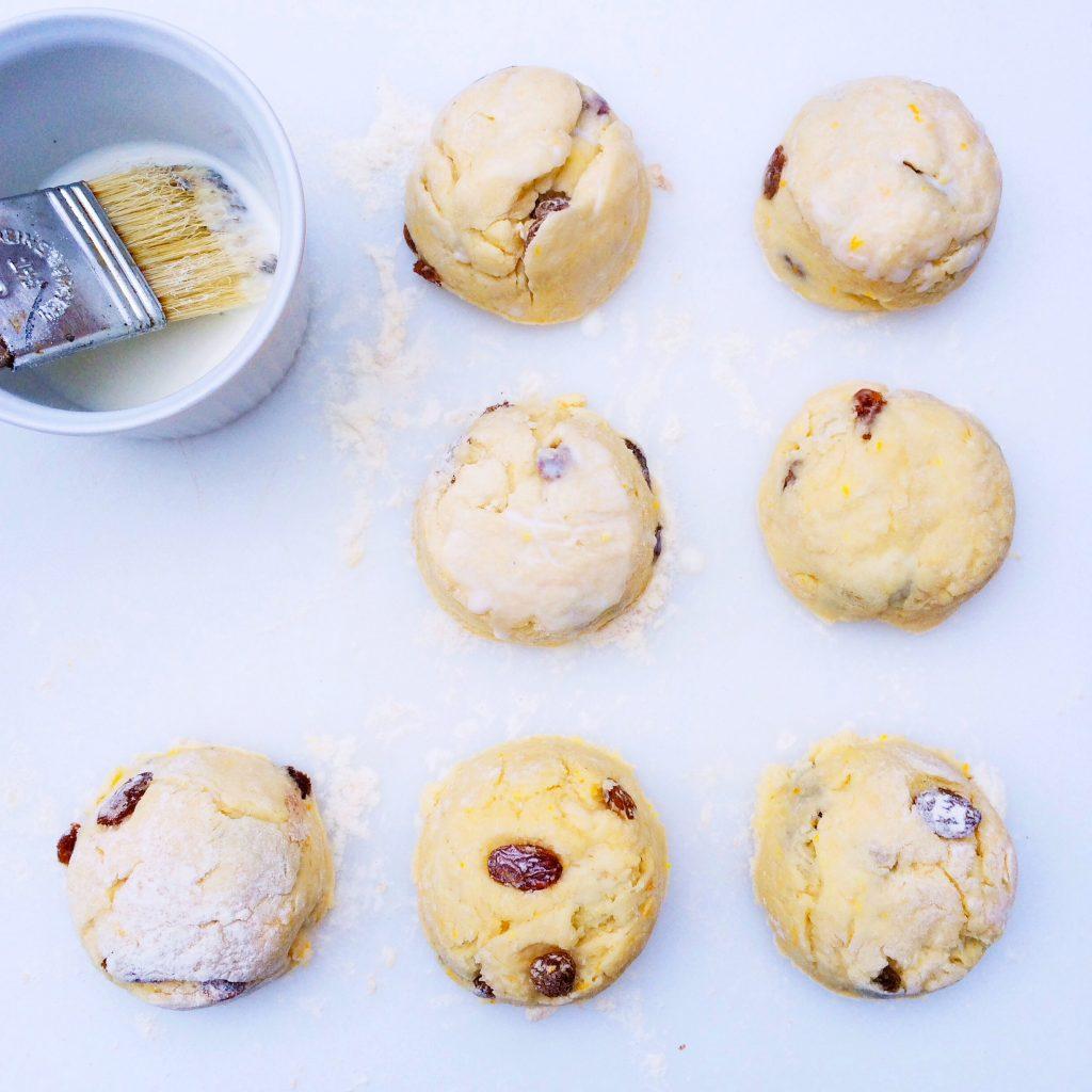Scones recept met sinaasappel + rozijnen made by ellen