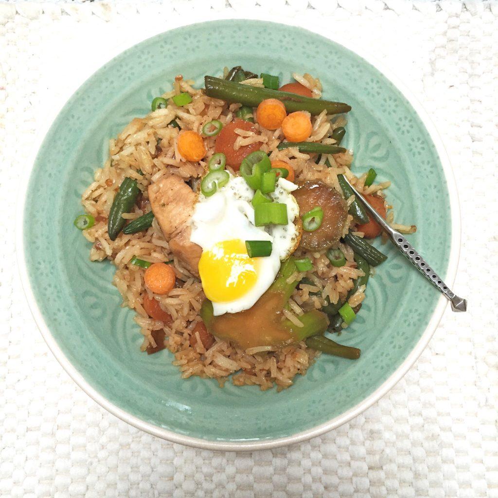 Gezonde en snelle maaltijd kip & groente in sojasaus made by ellen