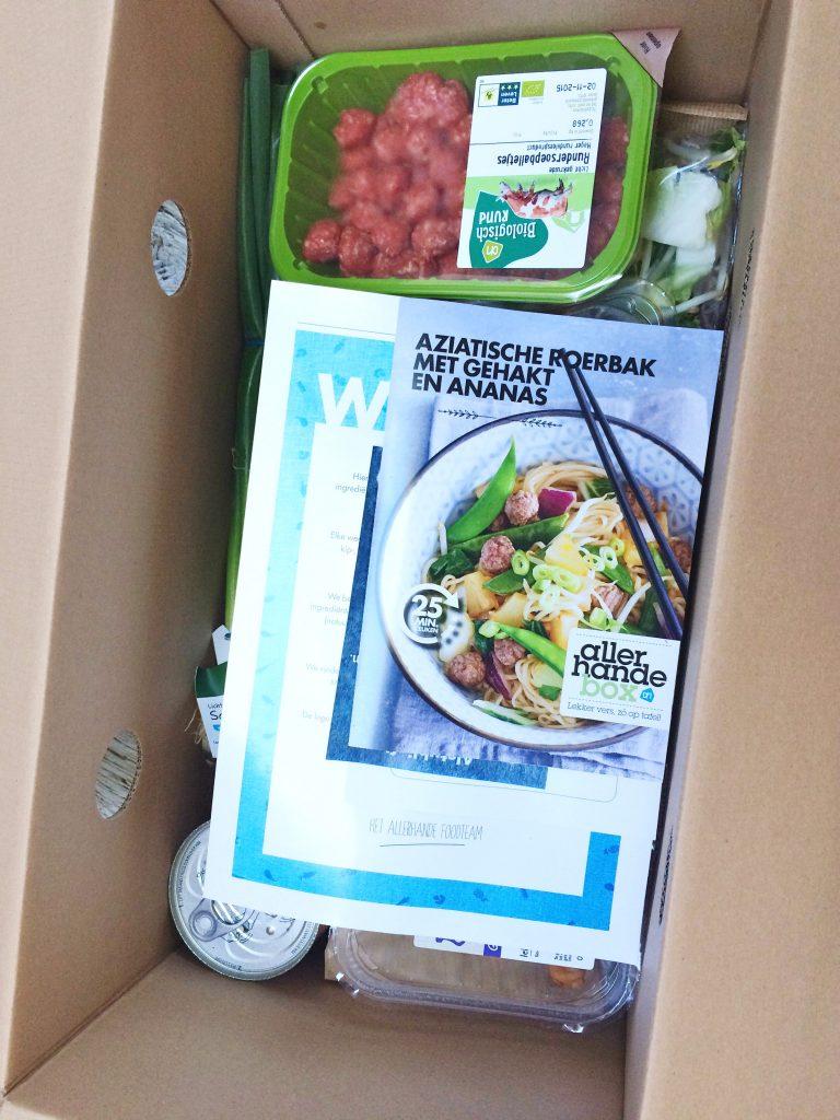 Allerhande maaltijdbox - onafhankelijke review made by ellen