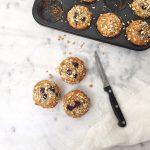 Ontbijtmuffins met havermout - zonder suiker made by ellen