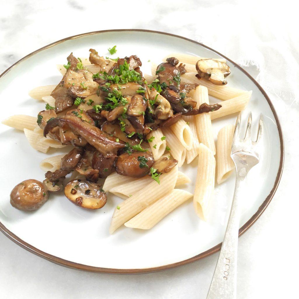 Pasta met champignons - romig & makkelijk recept made by ellen