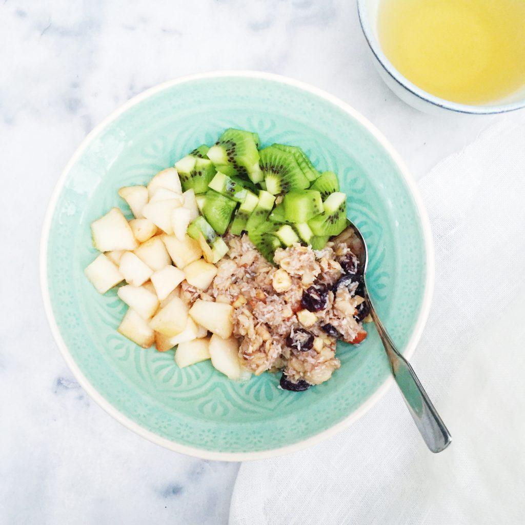 Gezond ontbijt recept: voedzaam havermout ontbijt made by ellen