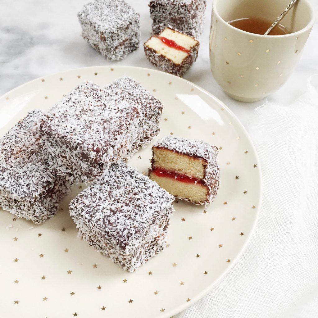 Lamington cake recept made by ellen