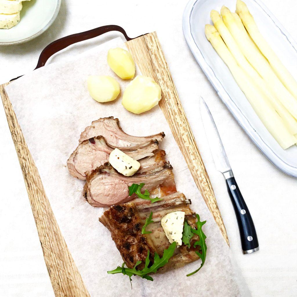 Lamsrack uit de oven - lekker recept om zelf te maken made by ellen