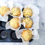Recept hartige muffins vegetarisch