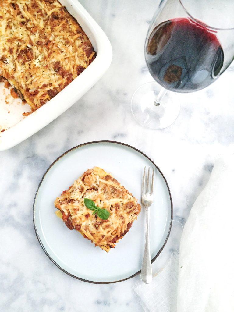 Recept lasagne maken - gehakt en makkelijke saus made by ellen