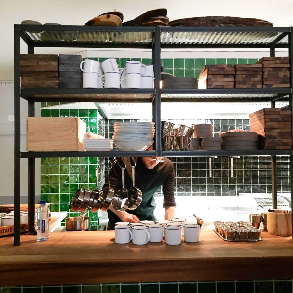 Ter Marsch & Co pop-up restaurant Amsterdam - new hotspot made by ellen