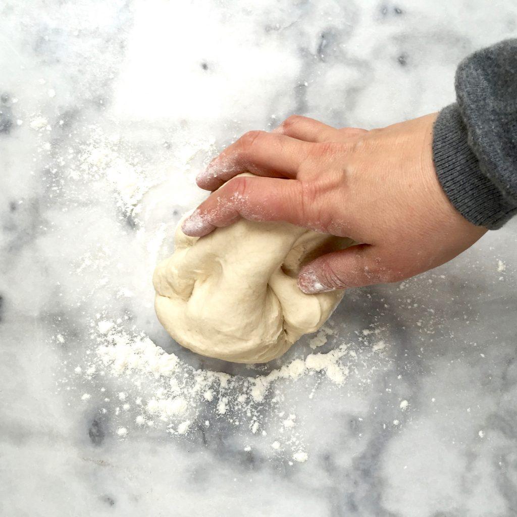 Recept breekbrood maken met knoflookboter made by ellen