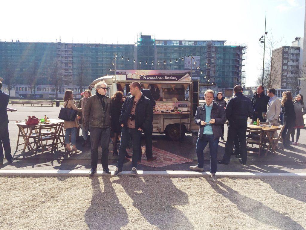 Aspergetijd! De warming-up bij Bolenius Amsterdam made by ellen
