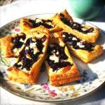Bladerdeeg recept: bladerdeeg hapje met geitenkaas made by ellen