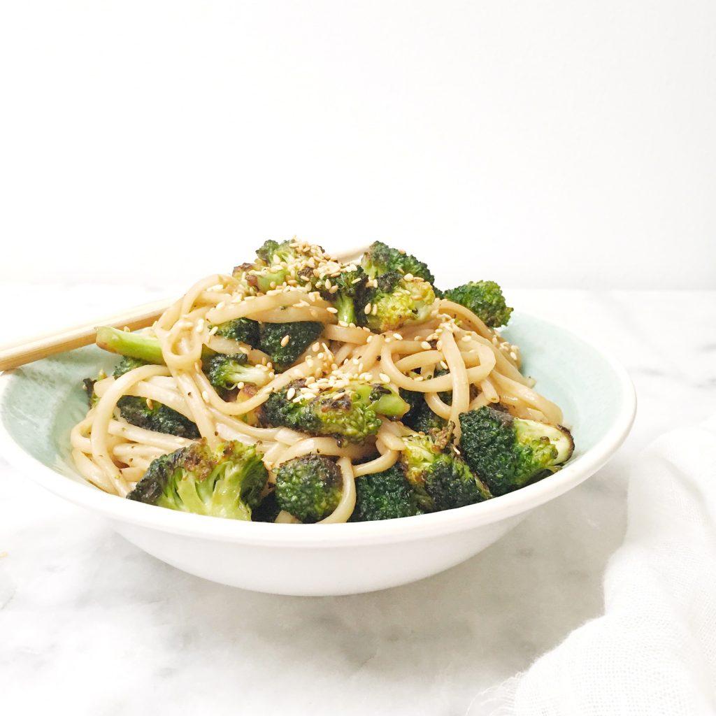 Broccoli recept: snel broccoli wokken met noodles made by ellen