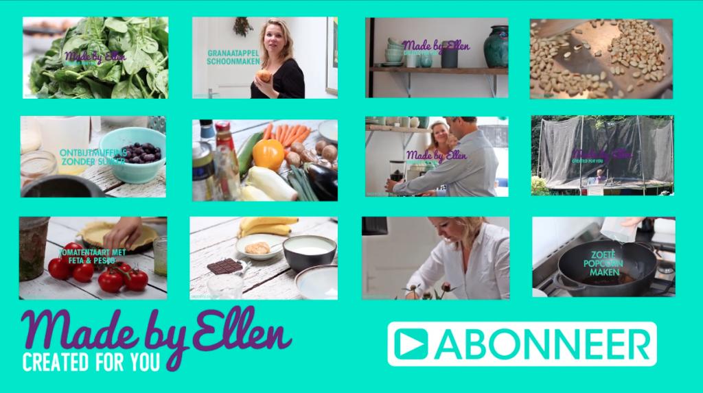 Lente recepten Made by Ellen - video recept made by ellen