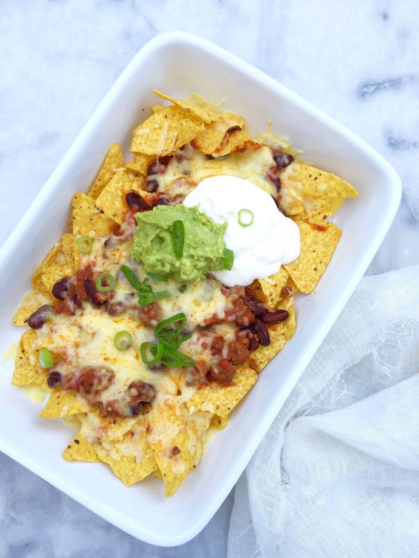 Nachos maken: recept met gehakt en kaas uit oven