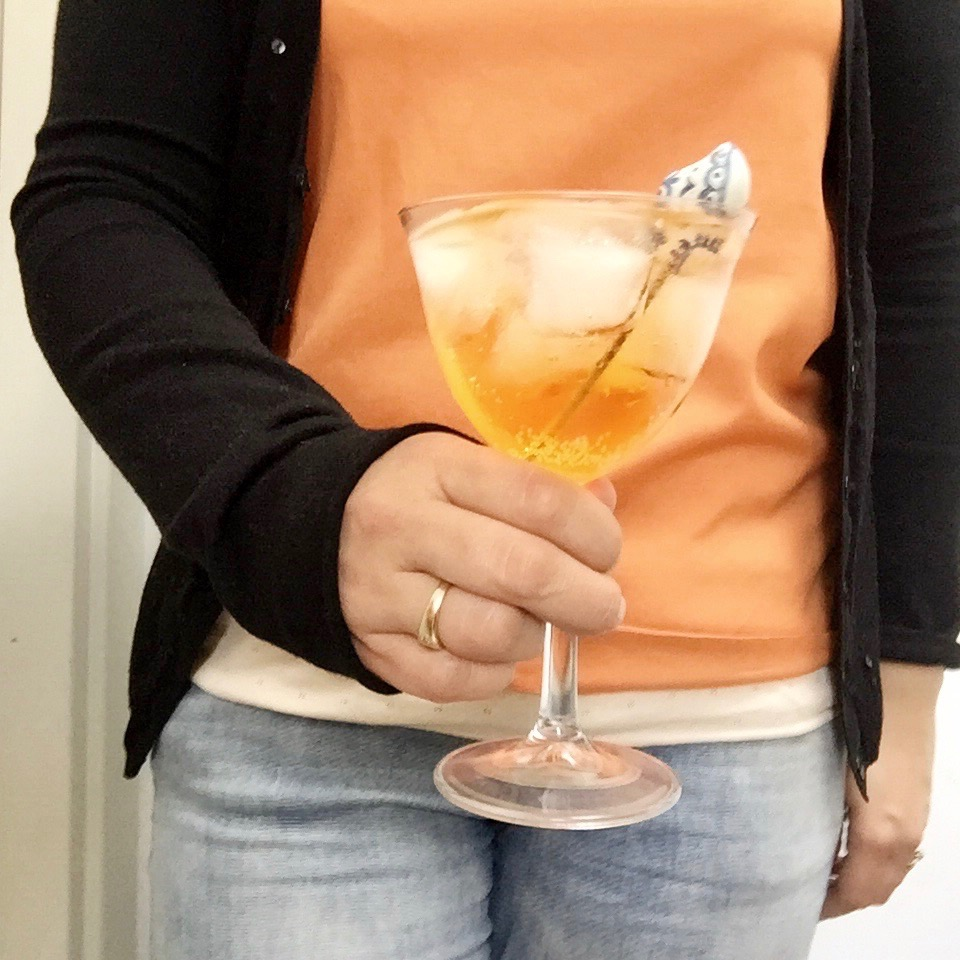 Koningsdag cocktail - drankje met oranjebitter made by ellen