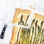 Recept aspergetaart bladerdeeg